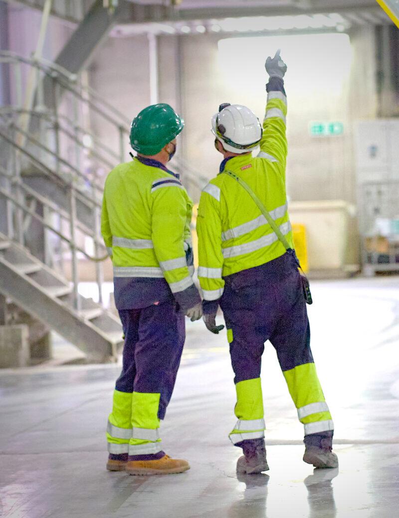 Ferrybridge workers